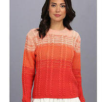 Style Stalker Ombre Cable Knit Sweater (M) Photo