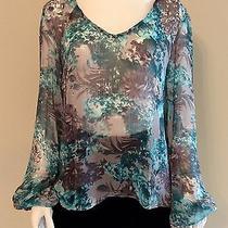 Style Stalker Sunset Strip Blouse Size 4 Photo