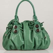 Stylish Beautiful Fancy Fashionable Designer Handbag or Shoulder Bag - Green Photo