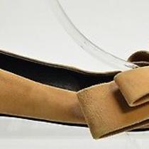 Stylish Jeffrey Campbell Ruston Women's Tan Suede Flats Size Us 6 Photo