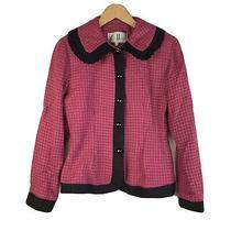 Sue Wong Pink Suit Jacket Blazer Size S Photo