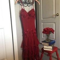 Sue Wong Red Dress Photo