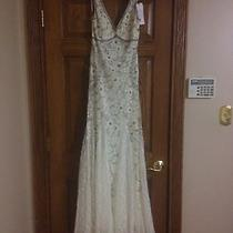 Sue Wong Size 6 Off-White Gown Photo