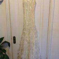 Sue Wong Wedding Dress Size 4 Photo