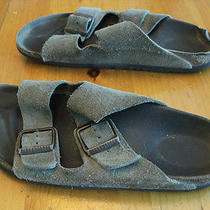 Suede Birkenstocks Women's 9 Photo