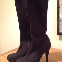 Suede Black Aldo Boots Photo