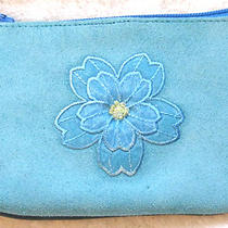 Suede & Leather Coin Purse