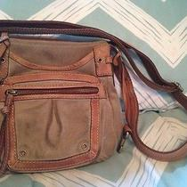 Suede Leather Fossil Purse Photo