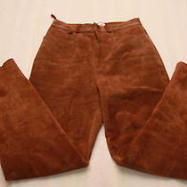 Suede Pants Size 6 Photo