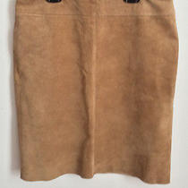 Suede Skirt Photo