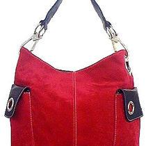 Suede Zipper Bag Photo