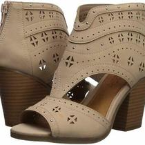 Sugar Women's Viveca Peep Toe Ankle Bootie With Side Blush Tumbled Size 7.0 Photo