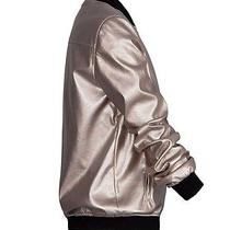 Suitblanco (Zara Group) Metallic Bomber Jacket Photo