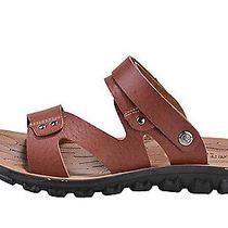 Summer Men Casual Beach Sandals Microfiber Massage Slipper Birkenstock Shoes Photo