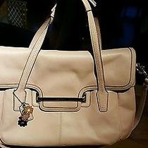 Summer Sale Coach Taylor Pink Leather Marin Flap Satchel Photo