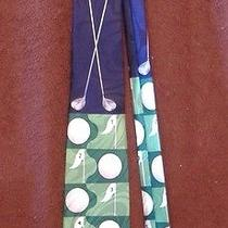 Summer Spring Mens Designer Steven Harris Golf Tie Green White Golf Clubs Casual Photo