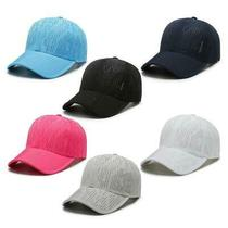 Summer Unisex Quick Dry Baseball Cap Breathable Eyelet Hole Sport Sun Visor Hat Photo