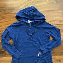 Sundry Love Cropped Hoodie Blue Pull Over Size 0 Xs Euc Photo
