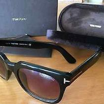 Sunglasses Tom Ford Campbell - Black Tf0198 Photo
