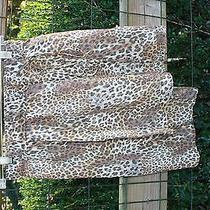 Suno Leopard Skirt W/tie Size Xs Photo