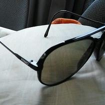 Super Black Primo Ultra Retro Aviator Sunglasses Made in Japan  Photo