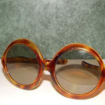 Super Cool Vintage Tortoise Hippie Women's Sunglasses Made in Italy  Photo