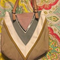 Super Cute Fossil Purse Suede and Leather Photo