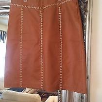 Super Cute Gap Leather Skirt.  Photo