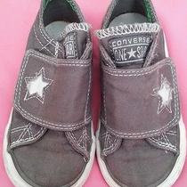 Super Cute Toddler Converse Shoes Size 1 Photo