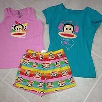 Super Fun Girl's Small Paul/paul Frank Pajamas  Size Small Photo