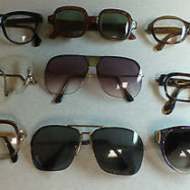 Super Lot Vintage Brand Name Sunglasses Eyeglasses Steampunk Retro Spectacles Photo