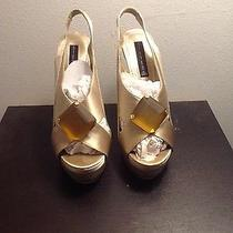 Super Sexy Satin Big Jewel Steven by Steve Madden Stilettos Size 10 Photo