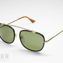 Super Sunglasses 540 Primo Black Leather by Retrosuperfuture Photo