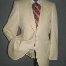 Superb Vintage Two Buttons Yves Saint Laurent Ysl Cream Men Jacket 40 R Slim Photo