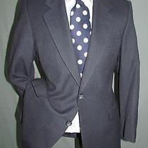 Superb Vintage Ysl Yves Saint Laurent Dual Vents Men Navy Stripes Jacket 36 S Photo