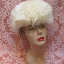 Superb Vtg 1960s Dr. Zhivago Ivory Tuscan Lamb Fur Hat Italy Exc Cond  32.99 Photo