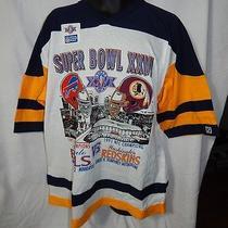 Superbowl Xxvi - Bills - Chiefs - Sz. Xl - Bally's Grand Atlantic City Shirt Nwt Photo