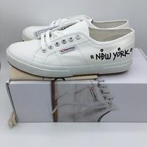 Superga 2750 Cotu Classic Customized New York Heart Sneakers 41 eu/9.5 Us W/bag Photo