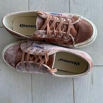 Superga Blush Velvet Sneakers 6.5  Photo