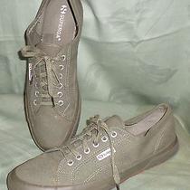Superga Canvas Sneakers Gum Soles Mens Olive Drab Green Us12 Eu46 Uexc Photo