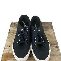 Superga Cotu Classic Lace Up Sneakers Mens Size 13 1/2 Black Sneakers Photo