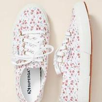 Superga Floral-Printed Sneakers by Superego New Sz. 6.5 Photo