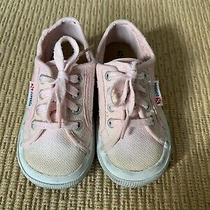 Superga Kids Toddler Pink Sneaker Size 25 / Us 8.5-9 Euc Photo