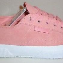 Superga Size 8 Suew Pyper 2750 Pink Suede Fashion Sneakers New Womens Shoes Photo