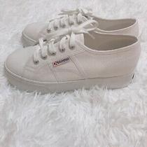 Superga Women's Flatform Sneaker Size 38 Photo