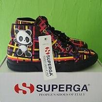 Superga X Domingo Zapata Panda Matrix Sneakers Size W 10 M 81/2  Eu  41 1/2  Photo