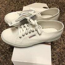 Supergua White Sneakers Women New With Box Size 9us Women 2750 Cotu Classic Photo