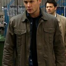 Supernatural Dean Winchester Gap Coat Jacket Amulet & Face Mask Cosplay Costume Photo