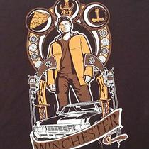 Supernatural Dean Winchester Nouveau Design Xl T Shirt Wb Fantasy Horror Tv Show Photo