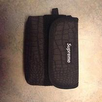Supreme Croc Bag Black Hat Camera Backpack Photo